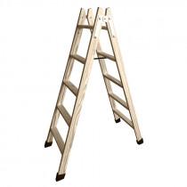 Escalera tijera de madera