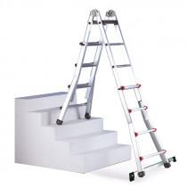 Escalera teléscopica multiposición - Escalísima