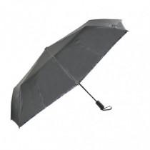 Paraguas plegable automático - 117 cm negro
