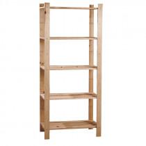 Estantería de madera - 65x30xh.171 cm