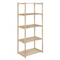 Estantería de madera - 65x40xh.171 cm